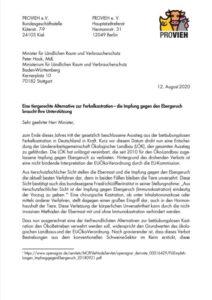 Impfung gegen Ebergeruch Brief Bild