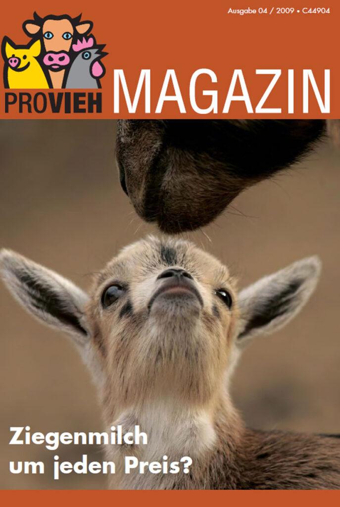 Cover, eine Ziege mit ihrem Kind