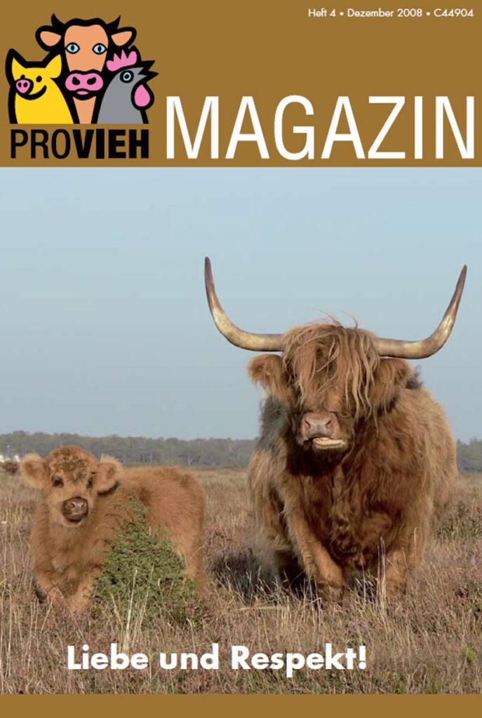 Cover, eine Kuh mit Kalb