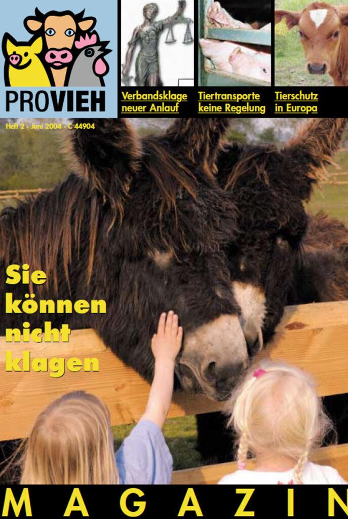 Cover, Kinder streicheln einen Esel