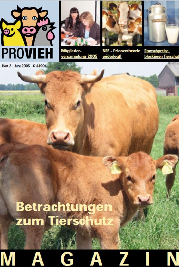 Cover, eine Kuh und ihr Kalb