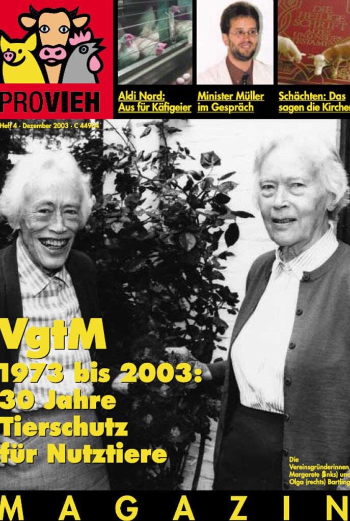 Cover, die Vereinsgründerinnen