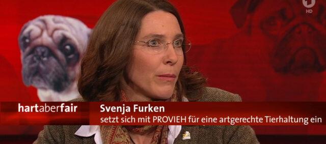 Svenja Furken bei Hart aber Fair