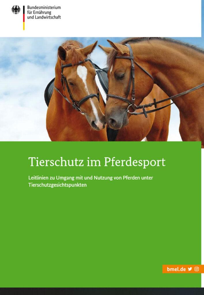Cover, Tierschutz im Pferdesport