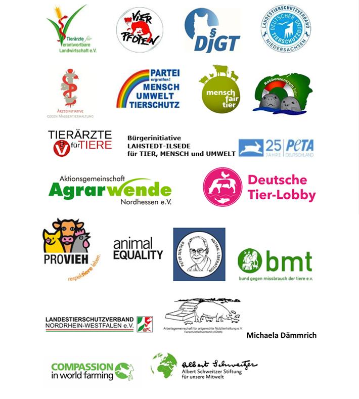 Logos der Umweltverbände