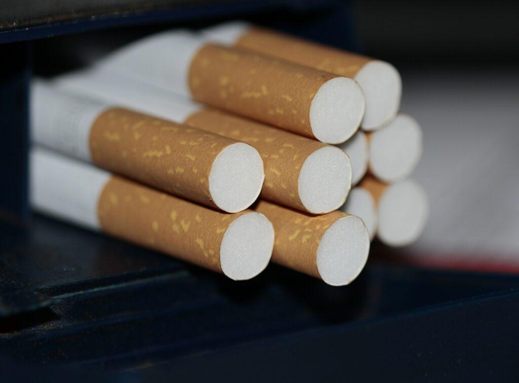 einige Zigaretten