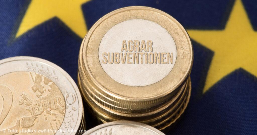 Agrarpolitik Euro Subventionen