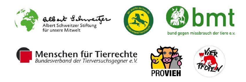 Bündnis für Tierschutzpolitik Logos