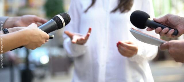 Interview Pressekonferenz