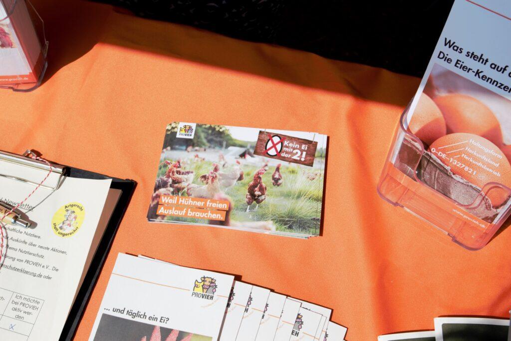 Postkarten an die Filialleitung