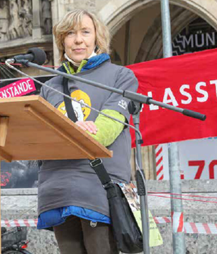 Aktionstag München, Rede