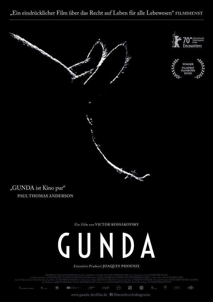 GUNDA Filmplakat