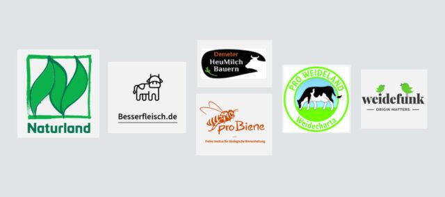 Logos von Kooperationspartnern